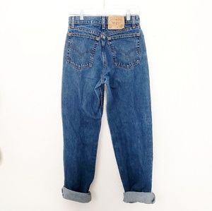 80-90s Vintage Levi's High Rise Distressed Jeans